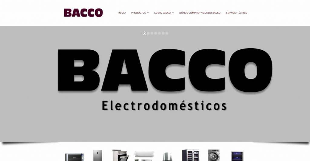 Bacco | Productos Electrodomésticos