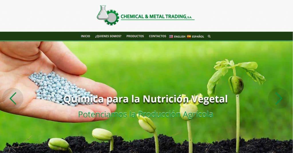 Chemical Metal   Distribución de Químicos y Metales